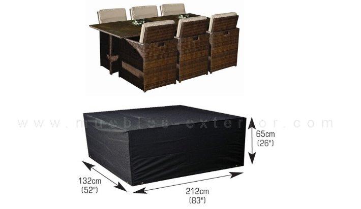 Funda muebles exterior for Fundas protectoras para muebles de jardin