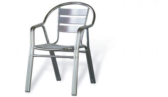 Sillas de aluminio for Mesas de exterior baratas
