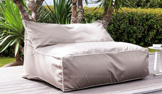 "Puff Exterior ""Puff-Out"" doble 120 cm."