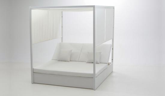 Sof s de jard n y exterior baratos s lo en muebles for Cama balinesa jardin
