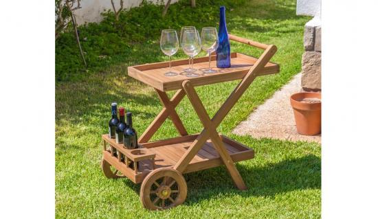 Muebles de exterior de madera for Muebles de jardin baratos en madera