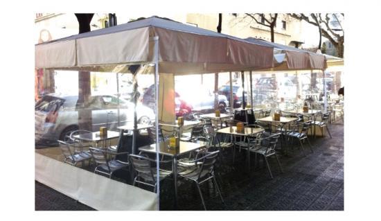 Parasoles sombrillas parasoles aluminio for Sombrillas terraza
