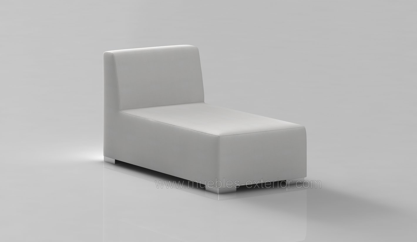 Chaise Longue Exterior Impermeable 155.5 profundo x 78 ancho