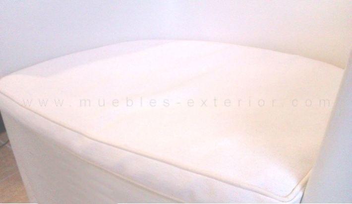 Cojin para sof de resina for Sofas resina exterior