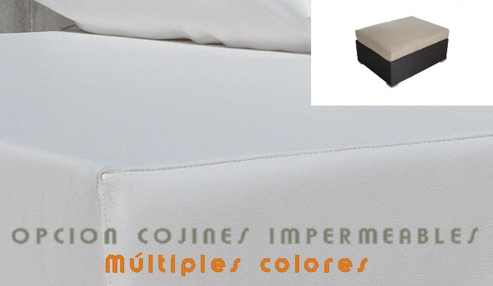 COJIN IMPERMEABLE para reposapies
