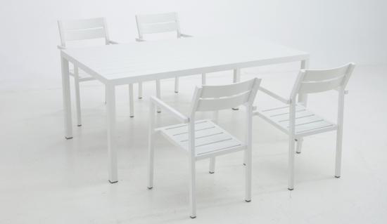 Sillas y mesas jard n colecci n vora for Conjunto muebles exterior