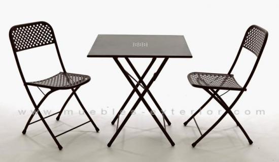 Los muebles de jard n baratos s lo en muebles exterior for Mesas de terraza plegables