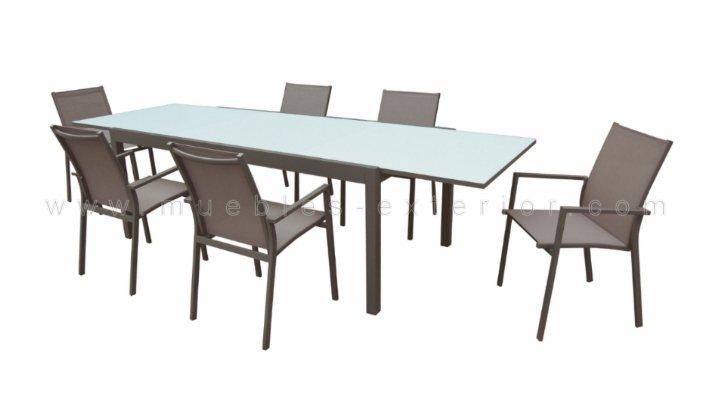 Mesa de terraza sabadell for Jardin y exterior muebles terraza