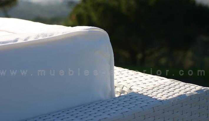 Fundas coj nes en blanco para sof de 2 plazas - Funda sofa blanca ...