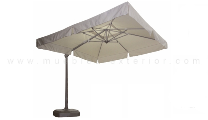 Parasol giratorio 3 x 3 for Parasoles jardin