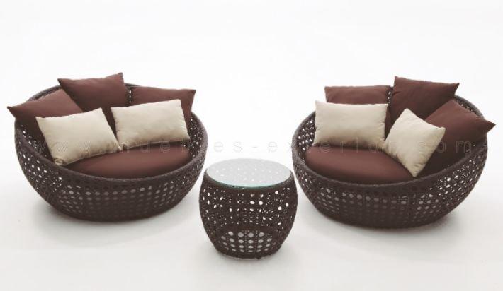 Set muebles de jard n mallorca for Fundas para mobiliario de jardin