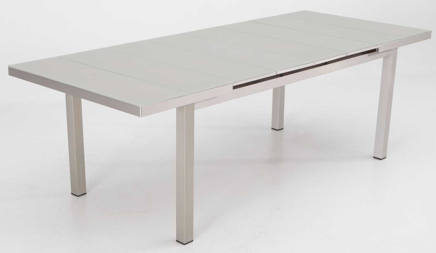 Mesa Extensible Aluminio Brushed Karivu