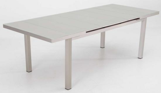 "Mesa extensible aluminio brushed ""Karivu"""