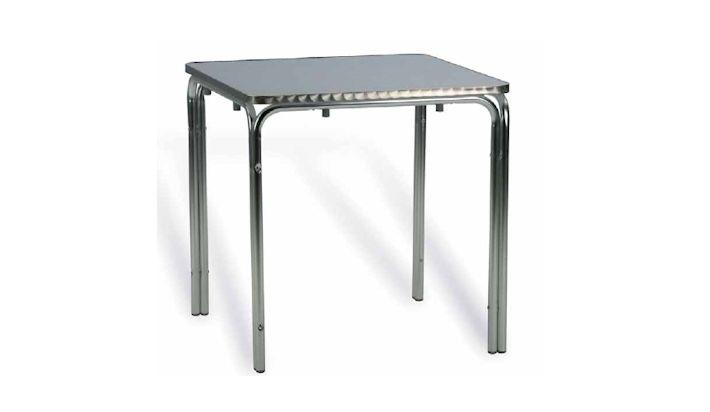 Mesa Terraza Exterior Aluminio 70x70