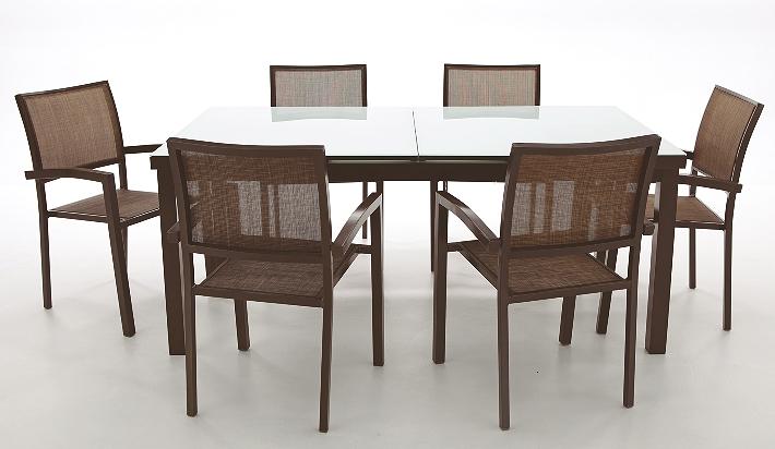Mesa exterior elche ampliable - Mesas de teca exterior ...
