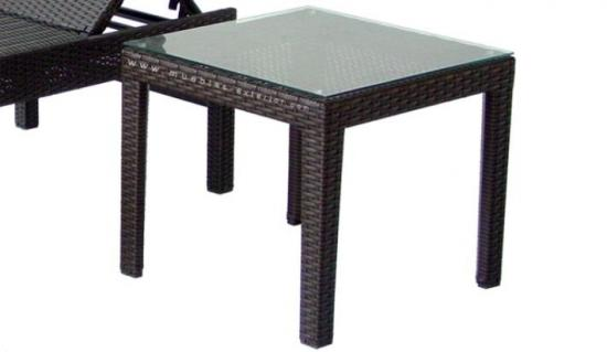 Tumbonas jard n muebles - Mesas de rattan ...