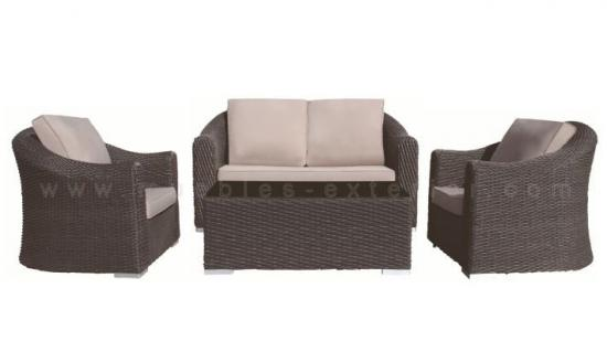 Muebles de jard n de rattan for Sofas baratos alicante