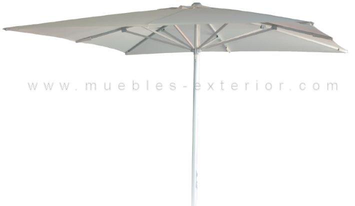 parasol rectangular aluminio 3x2. Black Bedroom Furniture Sets. Home Design Ideas