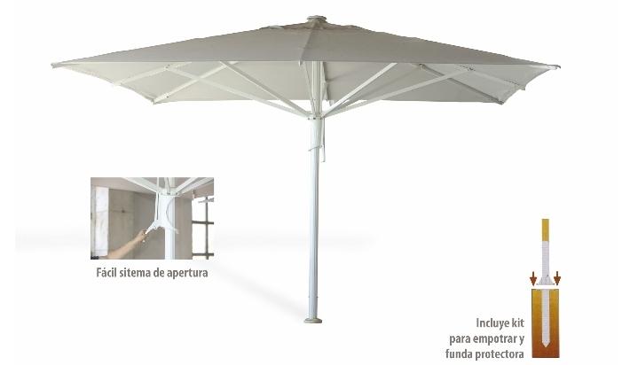 parasol hostelera o terraza x