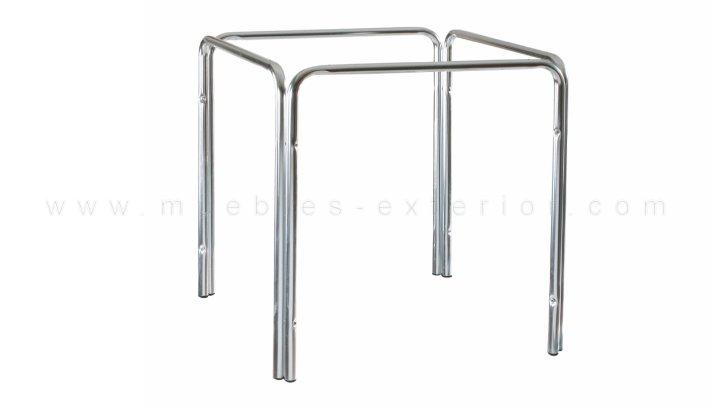 Patas mesa aluminio 70x70 - Patas de aluminio para muebles ...