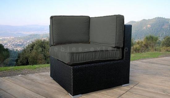 Sof s de jard n y muebles de exterior valencia for Sofa rinconera jardin