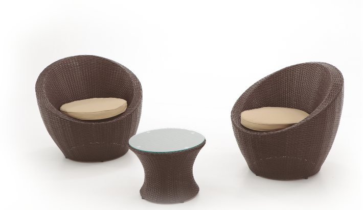 Set de muebles de jardin oviedo for Sillones de exterior para jardin