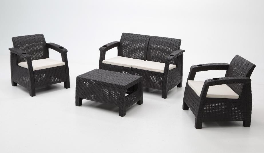 Armarios de resina exterior cheap simple great armario for Set muebles jardin baratos