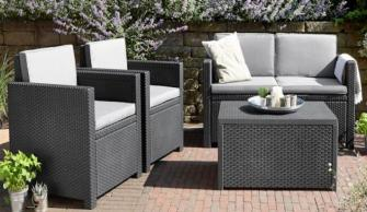 Texas Lounge Set de Jardin