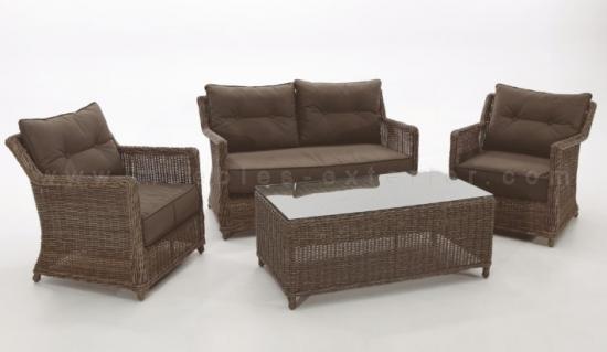 Muebles de jardín de Rattan