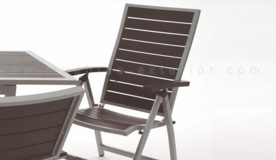 Sillas de jard n y mesas lloret for Sillon reclinable exterior