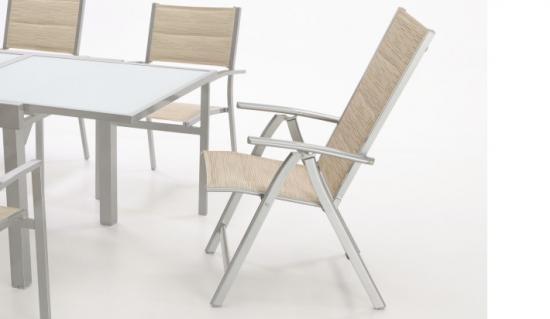 Sillas de aluminio for Sillon reclinable exterior
