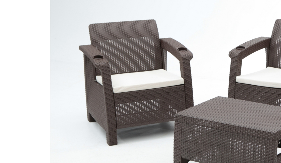 Muebles de resina para jardin excellent baul resina with - Mueble de resina para exterior ...