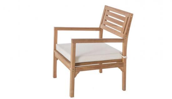 Muebles de exterior de madera for Sillon una plaza barato