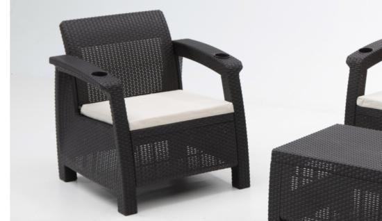 Muebles terraza plastico blanco 20170728200514 for Sillones para jardin baratos