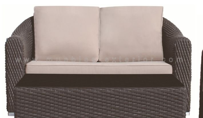 Sofa de jard n alicante 2 plazas for Sofas para jardin