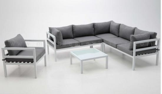 Modular vilanova for Sofa exterior blanco