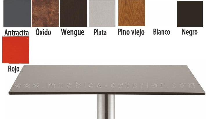 Tablero de mesa compacto 140 x 70 cm - Tablero para exterior ...