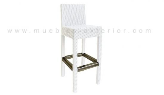 Limpiar muebles terraza plastico blanco 20170715143532 for Muebles terraza rattan pvc chile