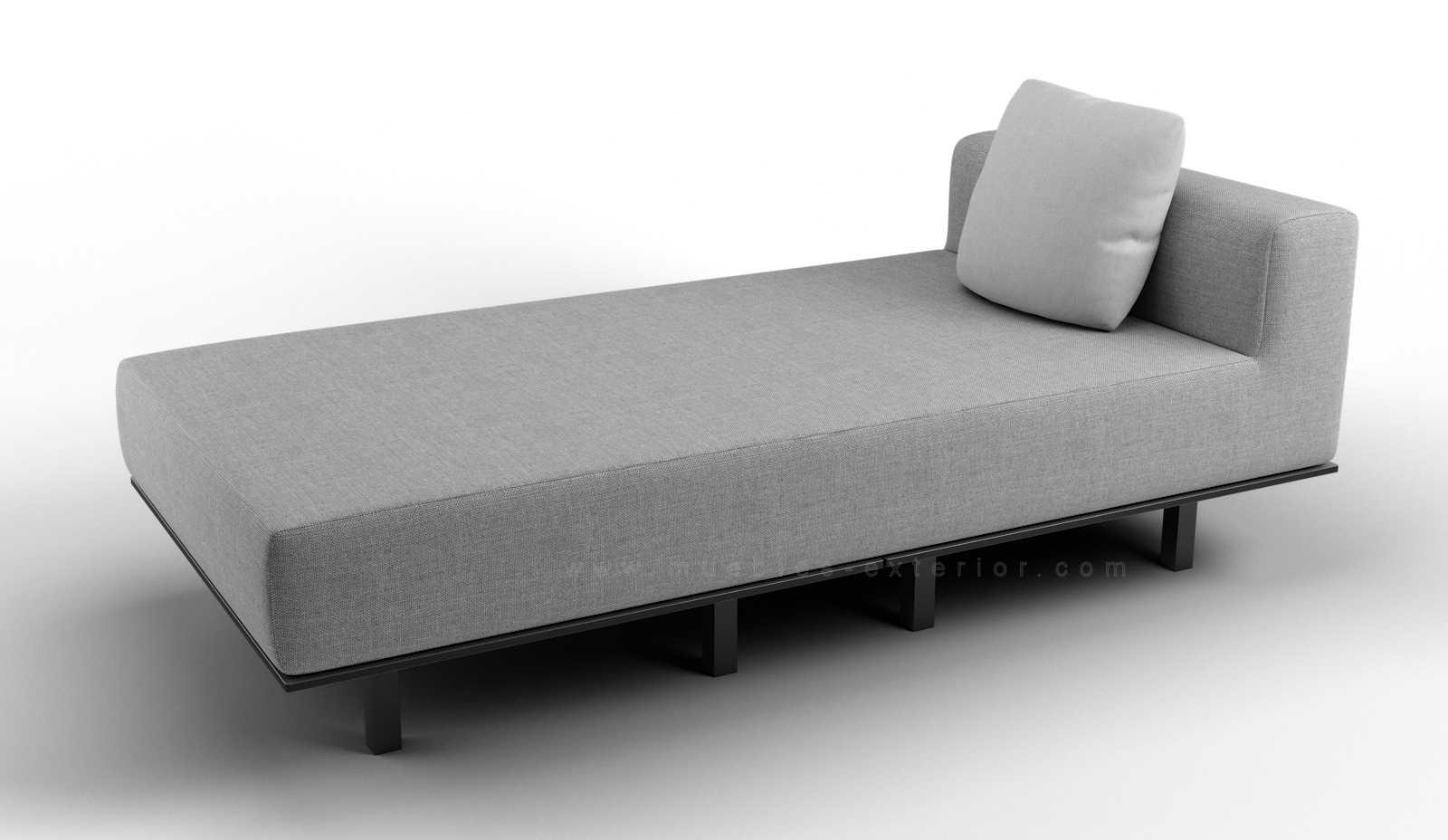 Cojines para chaise longue interesting muebles de sala - Arcon exterior ikea ...