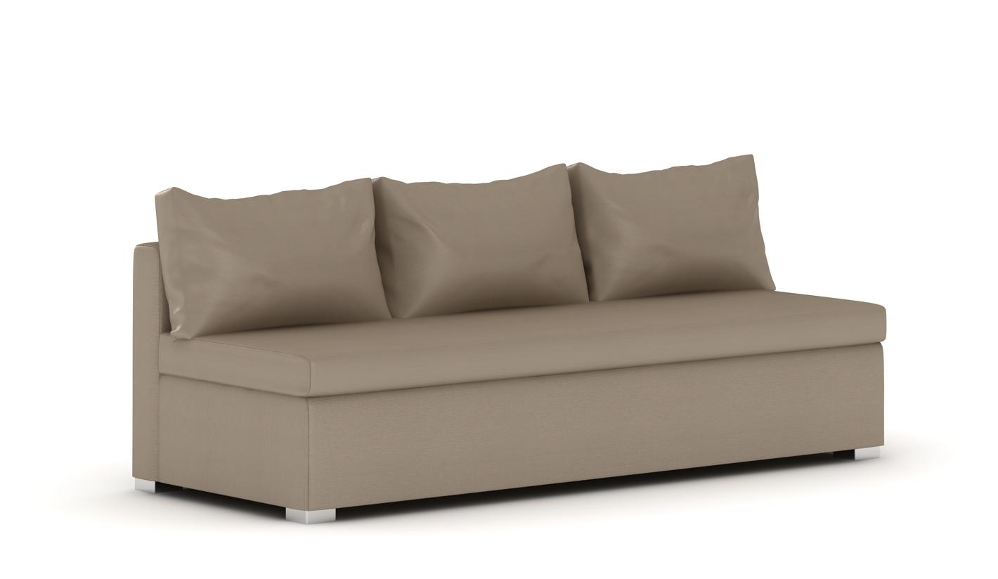 Sofa sin brazos idea de la imagen de inicio for Sofa cama sin brazos