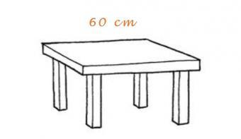 Mesas terraza 60cm