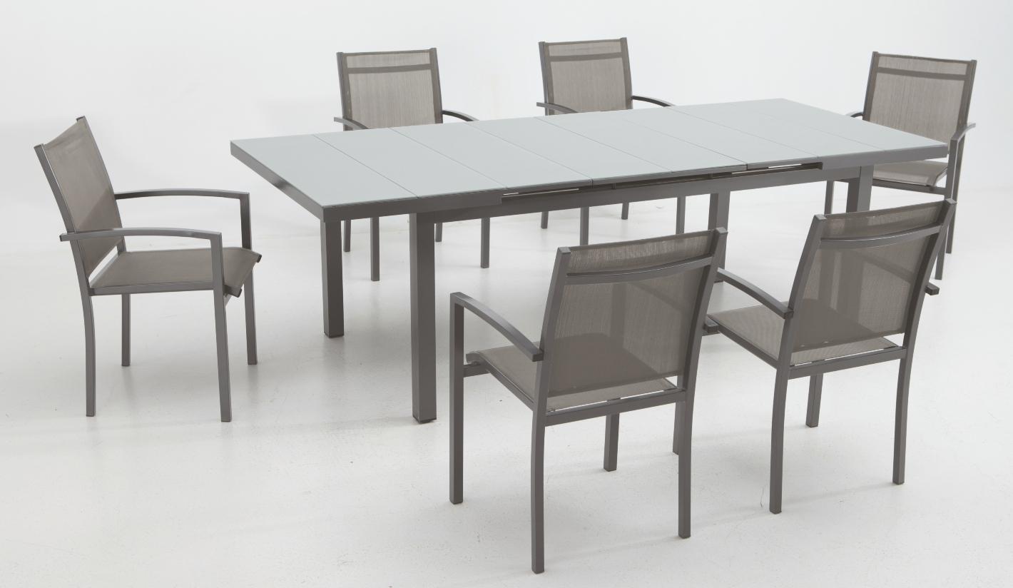 Conjunto muebles comedor jard n ridley for Comedor para jardin