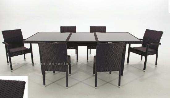 Conjuntos de muebles de jard n muebles for Comedores de jardin baratos
