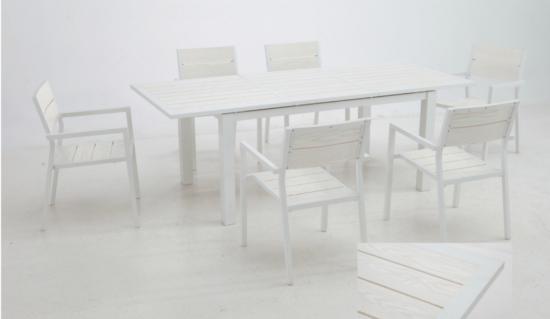 Conjuntos muebles de jardin for Mesa y sillas en resina trenzada barata