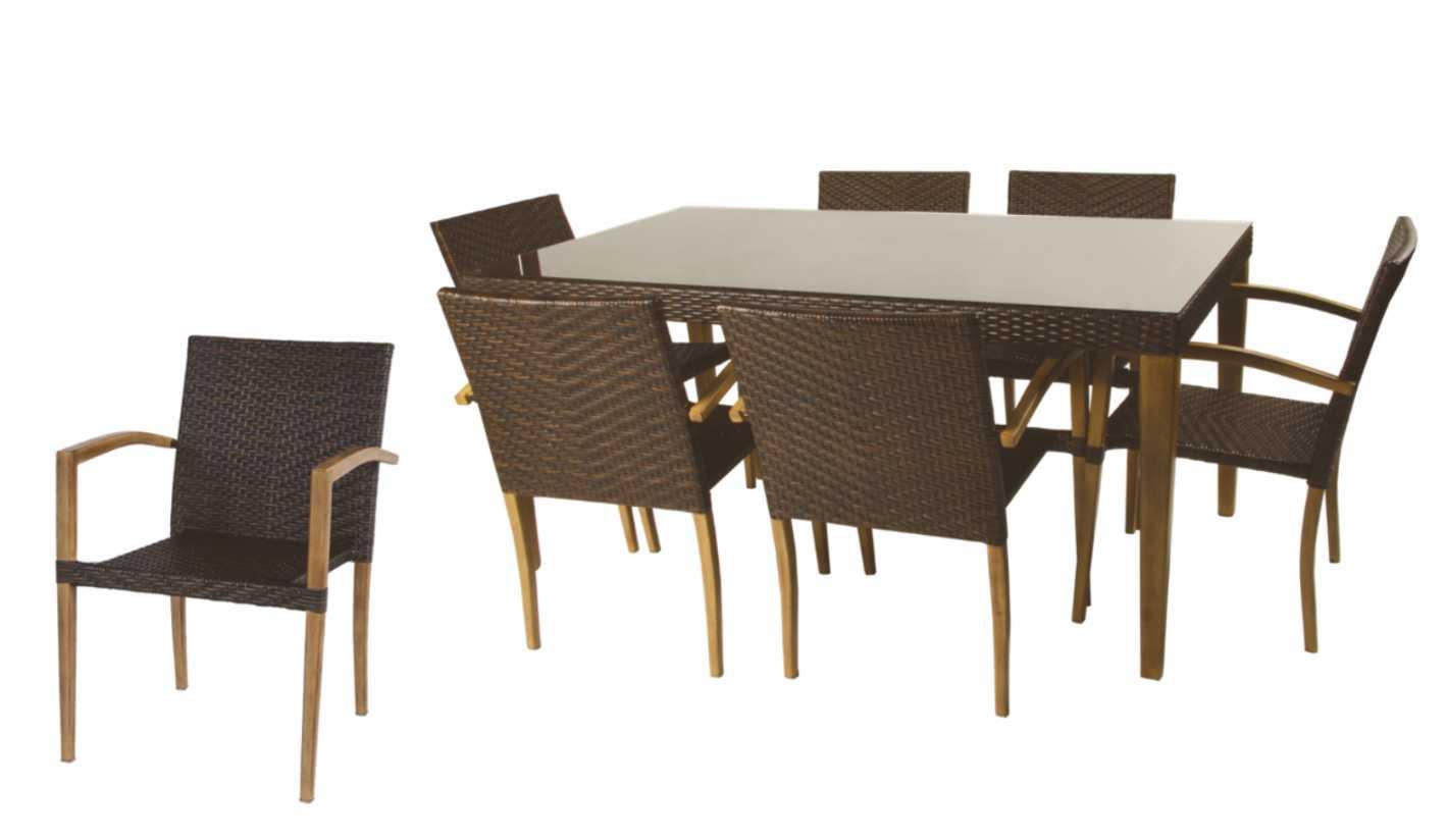 Conjunto de sillas y mesas jard n deisi for Conjuntos de jardin