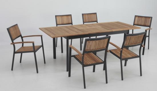 Conjuntos mesas y sillas de jard n comedor de jard n - Conjunto exterior jardin ...