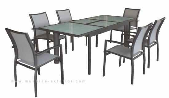 Conjuntos muebles de jardin - Conjunto de sillas y mesa para jardin o terraza ...