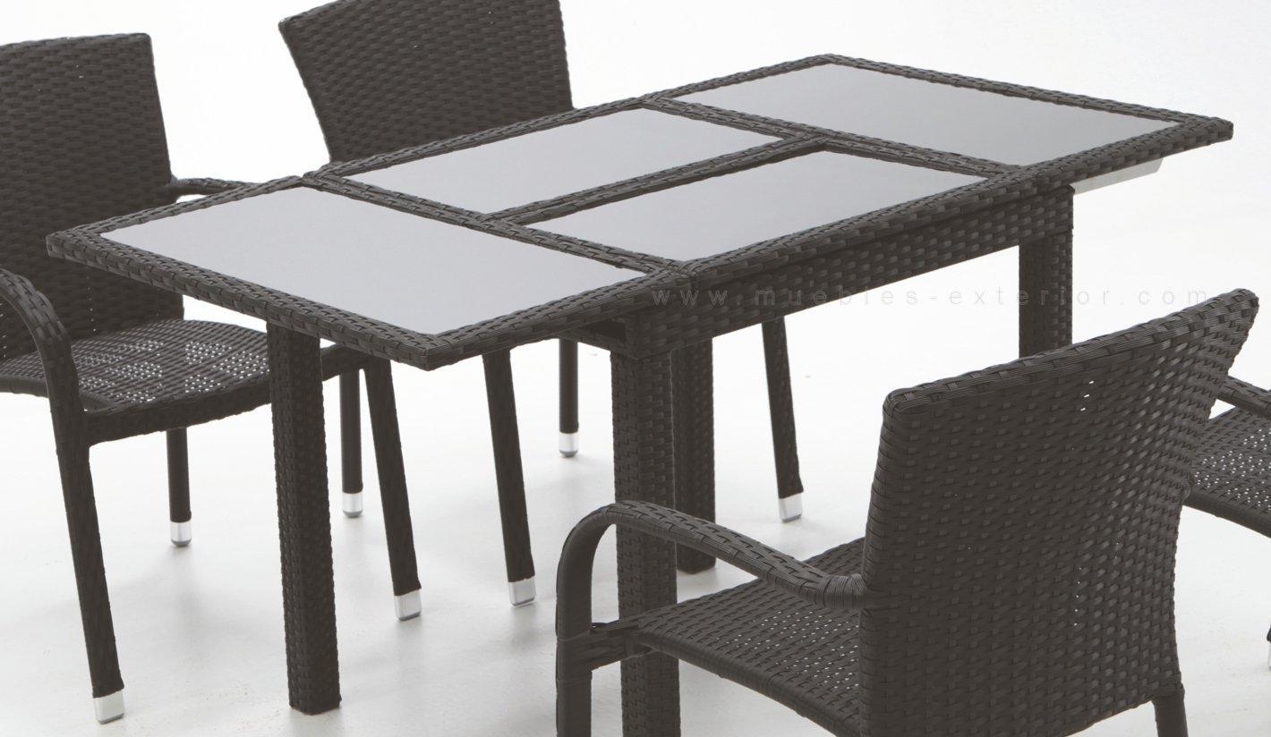 Sillas y mesas de jard n rattan - Mesas y sillas de jardin ...