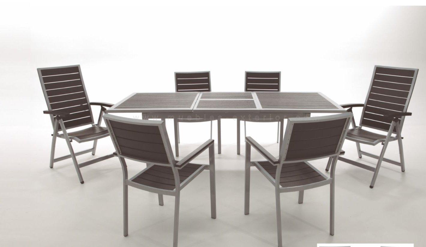 Sillas de jard n y mesas lloret - Muebles de resina para exterior ...