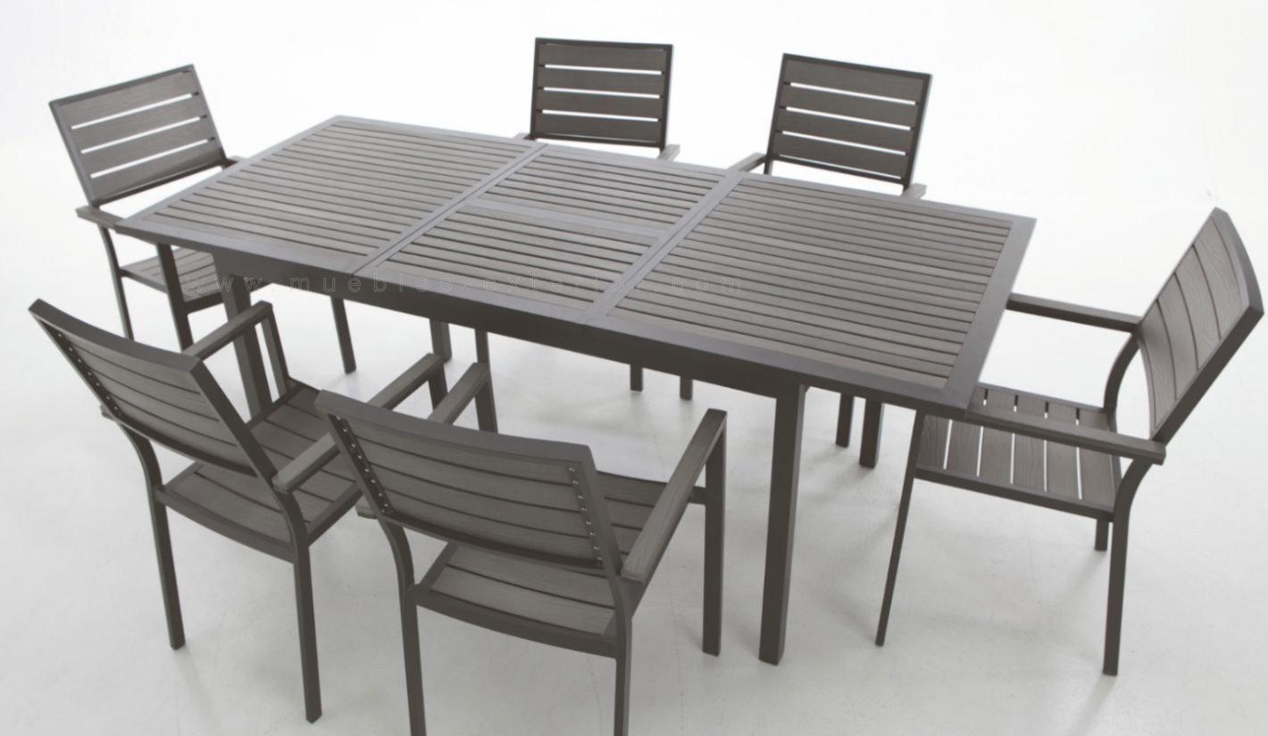 Muebles de terraza via for Mobiliario jardin terraza